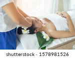young female have massage spa... | Shutterstock . vector #1578981526