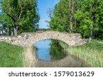 Old Stone Single Arch Bridge ...