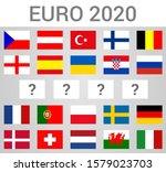 2020 european football...   Shutterstock .eps vector #1579023703