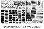 brush strokes  dividers and... | Shutterstock .eps vector #1579192030