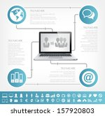 it industry infographic elements | Shutterstock .eps vector #157920803