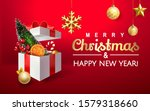 merry christmas and happy new... | Shutterstock .eps vector #1579318660