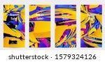 abstract social media template...   Shutterstock .eps vector #1579324126