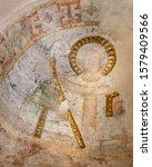 Ancient Romanesque Painting Af...