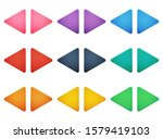 colorful triangle arrow buttons ...