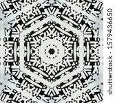 monochrome abstract... | Shutterstock . vector #1579436650