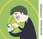 Smart Phone Addiction Concept ...