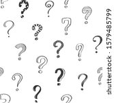 seamless pattern of doodle hand ... | Shutterstock . vector #1579485799