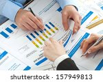 business accounting  | Shutterstock . vector #157949813
