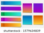 different colorful post note... | Shutterstock .eps vector #1579634839