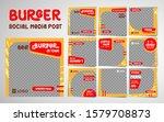 Burger Social Media Post...