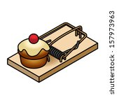 A Mousetrap With A Muffin.