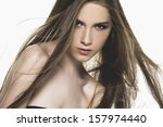 portrait of sexy young woman | Shutterstock . vector #157974440