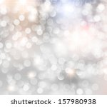 abstract lights on watercolor... | Shutterstock .eps vector #157980938