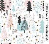 Winter Christmas Seamless ...