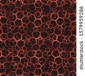 contemporary honeycomb... | Shutterstock .eps vector #1579959286