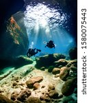 Cave Divers Exploring Malta...