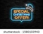 vector realistic isolated neon...   Shutterstock .eps vector #1580103943