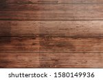 Dark Brown Wooden Surface....