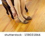 horizontal photo of woman ...   Shutterstock . vector #158031866