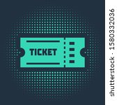 green ticket icon isolated on... | Shutterstock .eps vector #1580332036