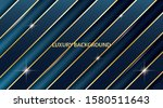blue background with luxury... | Shutterstock .eps vector #1580511643