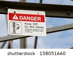 Do Not Climb Electrical Tower...