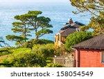 California Houses On A Hillsid...