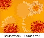 illustration with red and... | Shutterstock .eps vector #158055290