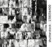 art abstract geometric textured ... | Shutterstock . vector #158056400