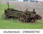 A Vintage Combine Harvester...