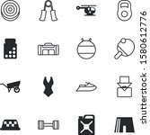sport vector icon set such as ... | Shutterstock .eps vector #1580612776