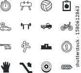 sport vector icon set such as ... | Shutterstock .eps vector #1580612863