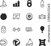 sport vector icon set such as ... | Shutterstock .eps vector #1580615263