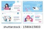 women beauty and proper... | Shutterstock .eps vector #1580615803