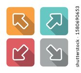 basic icons of direction arrows....