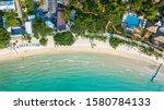 Koh Samet Island Aerial Beach...