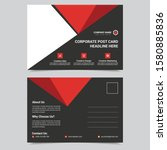 post card template design... | Shutterstock .eps vector #1580885836