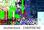 festive decoration. colorful... | Shutterstock . vector #1580958760
