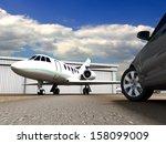 luxury transportation  | Shutterstock . vector #158099009