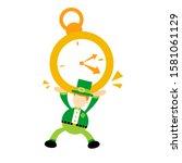 leprechaun pick big clock time...