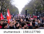 People March During A...