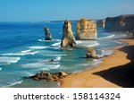 Twelve Apostles On Great Ocean...
