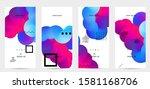 bright colored sale...   Shutterstock .eps vector #1581168706