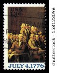 Usa   Circa 1976  A Stamp...