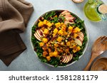 Winter Or Fall Salad With Kale  ...