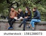 Riga  latvia  2019 group of...