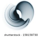 geometry of soul series.... | Shutterstock . vector #158158730