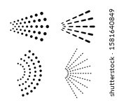 water spray vector icon set on...   Shutterstock .eps vector #1581640849
