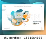 landing page operating system...